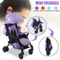 Ultra lightweight Baby Stroller Portable Folding Strollers Sit Lie High Landscape Umbrella Baby Trolley Summer Winter