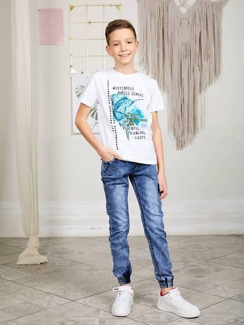 Джинсы джинсовые Luminoso для мальчиков