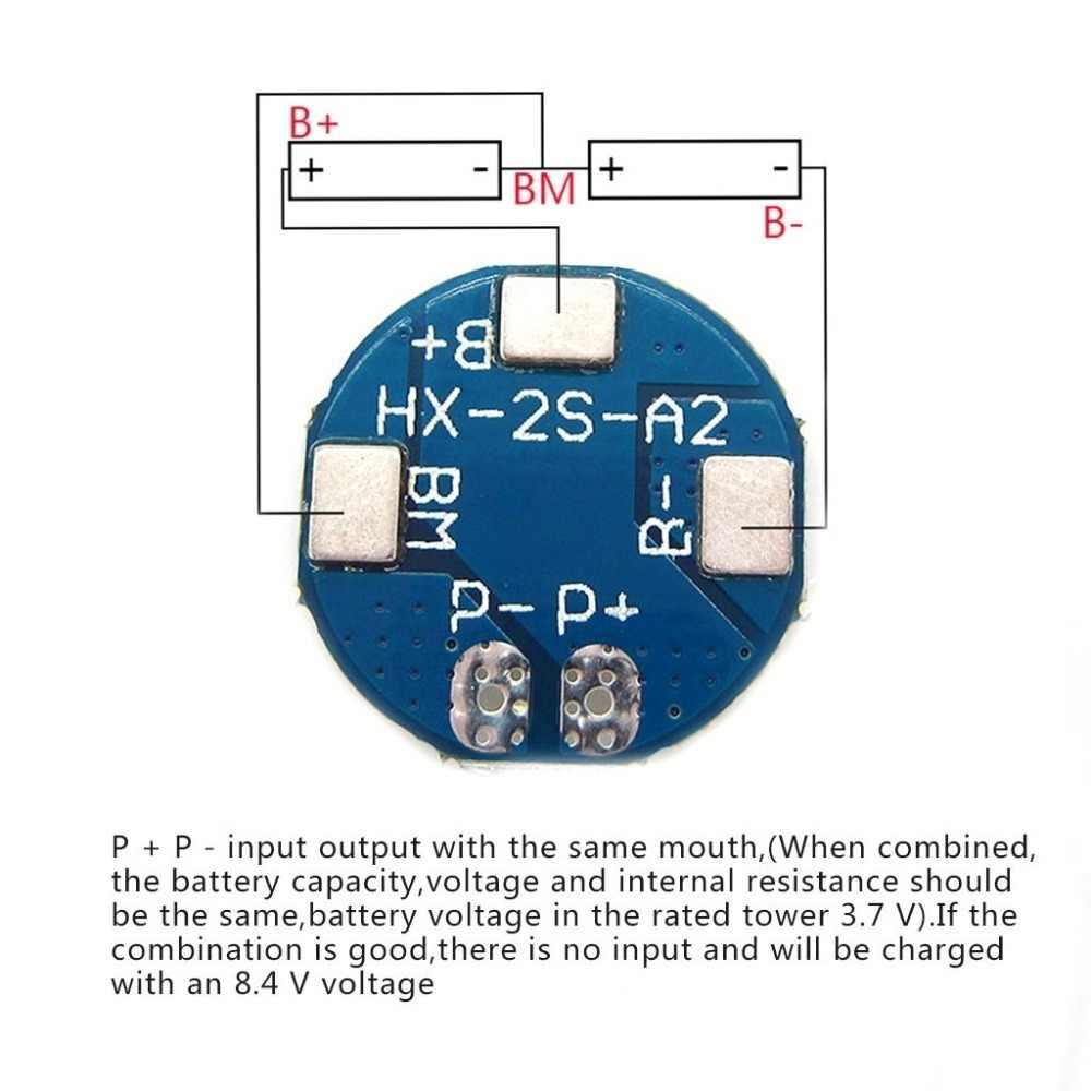 Aokin 2S 5A литий-ионная литиевая батарея 7,4 v 8,4 V 18650 зарядное устройство Защитная плата bms pcm для литий-ионной Lipo батареи Max 7A аксессуары