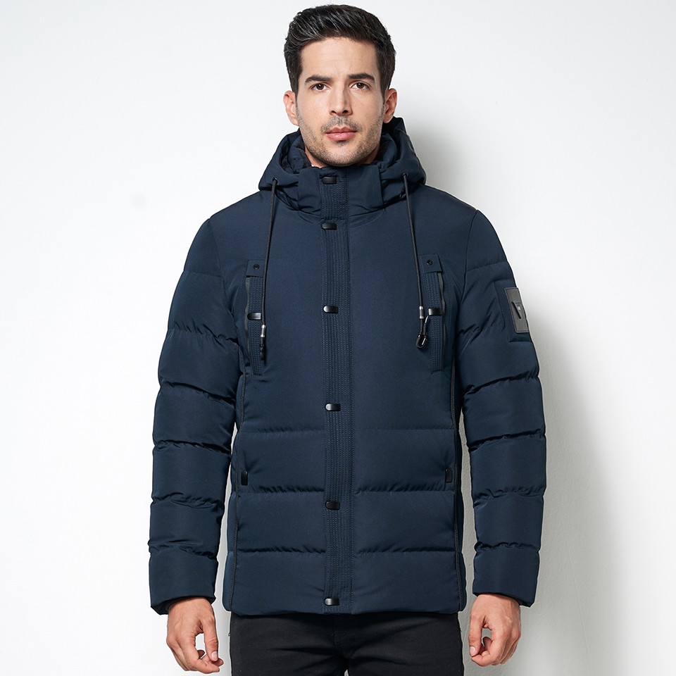 Arctic Cold 2019 Winter Men Warm Fleece Lined Jacket   Parka   Coat Waterproof Business Thick Thermal Hooded Pockets Coat   Parka   Male