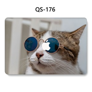 Image 4 - ل حقيبة لاب توب للمحمول ماك بوك 13.3 15.4 بوصة ل حالة ماك بوك اير برو الشبكية 11 12 مع واقي للشاشة لوحة المفاتيح كوف
