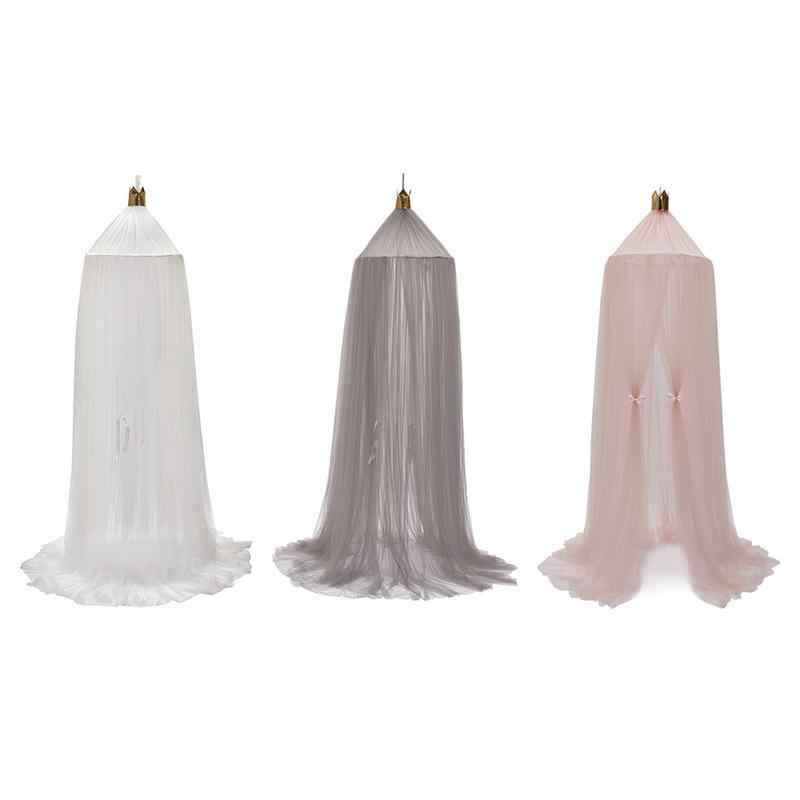 Cotton Baby Canopy Mosquito Net Anti Mosquito Princess Bed Canopy Girls Room Decoration Bed Canopy Pest Control Reject Net