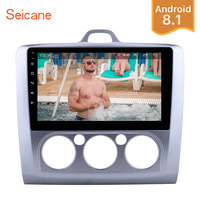 Seicane Android 8.1 9 2Din Car Radio GPS Multimedia Player For ford focus EXI MT 2 3 Mk2/Mk3 2004 2011 Touchscreen Head Unit