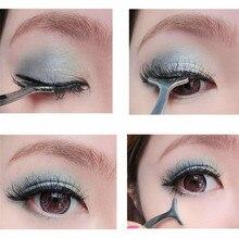1pcs False Eyelash Tweezers Fake Eye Lash Applicator Extension Curler