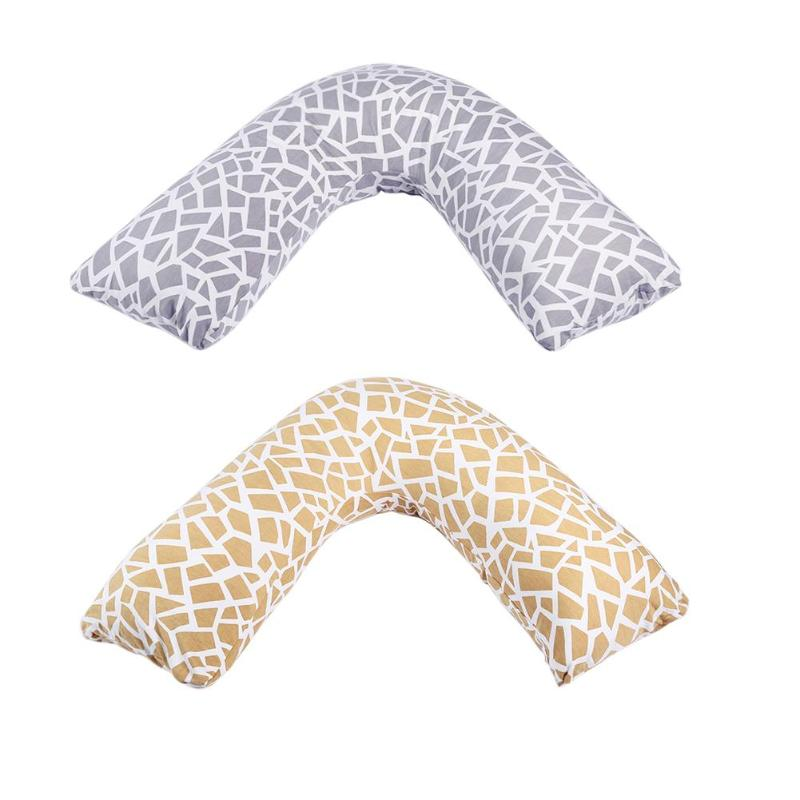 Sleeping Support Body Pillow V-shape Maternity Baby Nursing Pillows Bedding