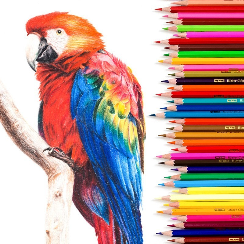 Huiqin 36 48 72colors Watercolor Pencils Set Drawing Pencils Crayons Lapices De Colores Colored Pencils Art Sketch Colour Pencil Colored Pencils Aliexpress