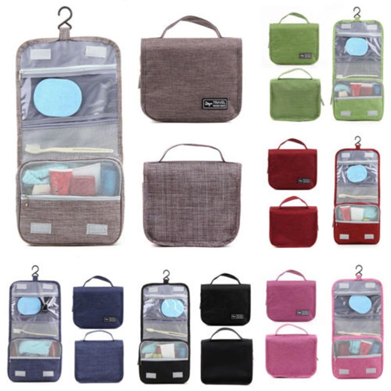Hanging Toiletry Bag Large Kit Folding Makeup Organizer For Men And Women Travel