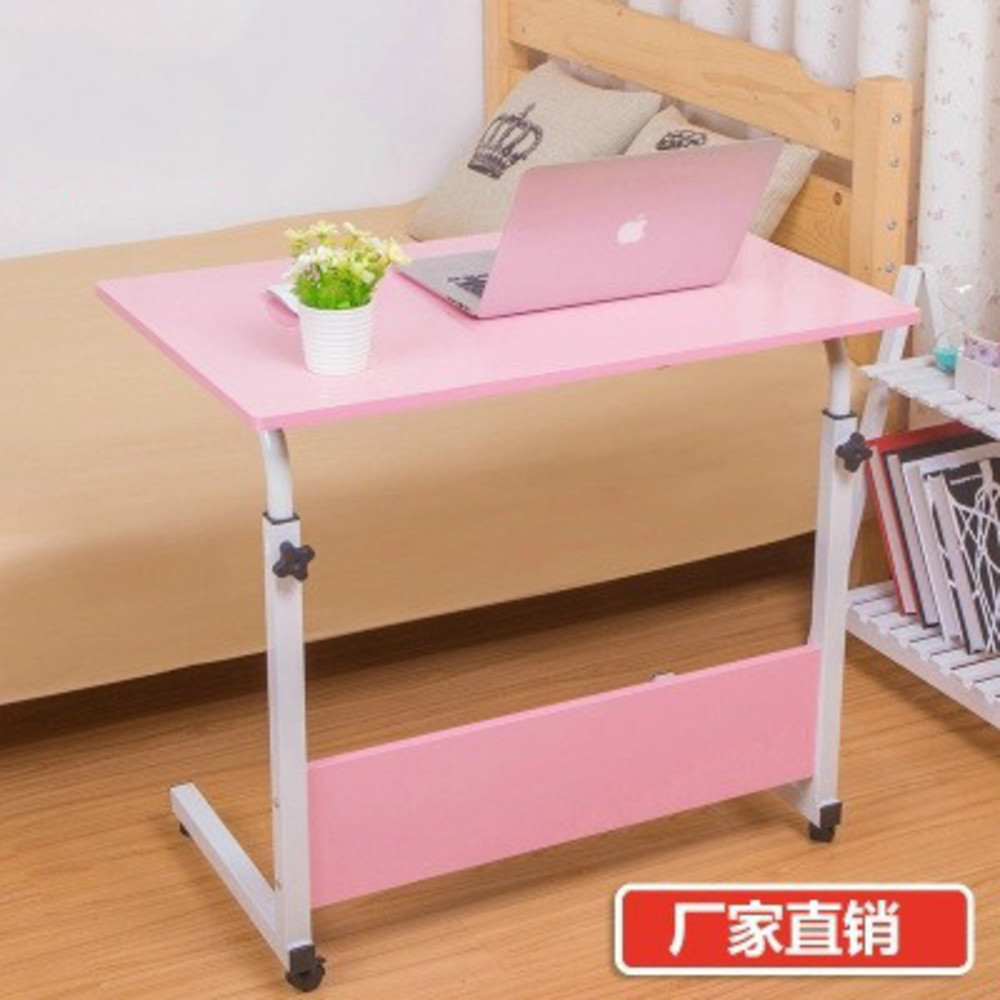 AC0200014 Simple And Easy Notebook Computer Table Bed Use Benchtop Household Concise Fold Move Lift Study Write Desk You RU quality baby bed rail easy fold durable use pink and blue color general use 120cm 150cm 180cm and 200cm