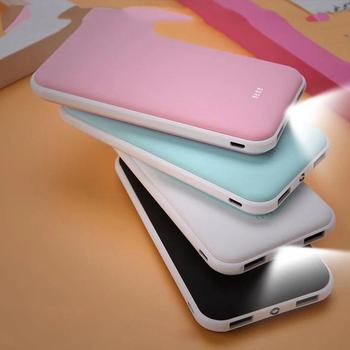 Portable Powerbabk Case Ultra Thin Smartphones Dual USB Charger DIY Powerbank Box Battery Case