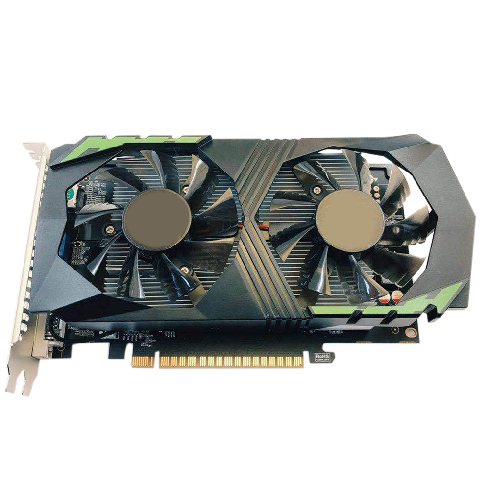 GTX 1050 4 GB D5 ordinateur de bureau Jeu carte graphique Ordinateur Accessoires