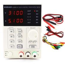 220V KA3005D 高精度調整可能なデジタル DC 電源 30 V/5A 科学研究サービス実験室 0.01V 0.001A