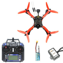 JMT 210mm RTF FPV Hexacopter Racer Drone Airplanes with Mini Flysky FS I6 Transmitter F4 Pro(V2) Flight Controllee Parts jmt diy fpv drone 6 axle hexacopter kit hmf s550 frame pxi px4 flight control 920kv motor gps gimbal at10 transmitter