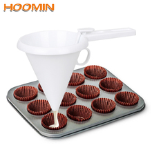 HOOMIN шоколадная Воронка регулируемые инструменты для выпечки Десерт торт украшение кухонная утварь приспособления инструменты для кухни