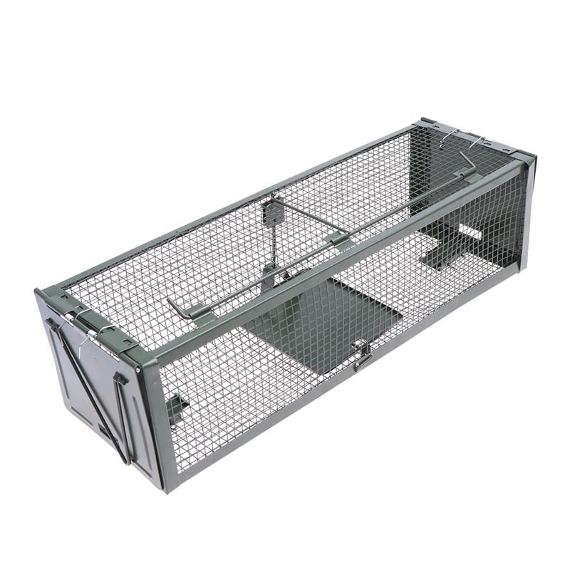WINOMO Humane Animal Live Cage Rat Cage Trap Home Use Mouse Catcher Live Rodent Pest Control Supplies