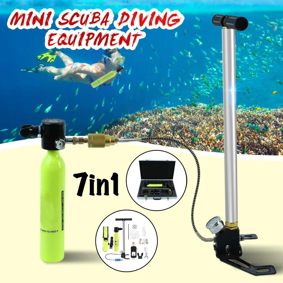 Mini réservoirs d'air d'oxygène de plongée équipement de plongée pour la plongée en apnée