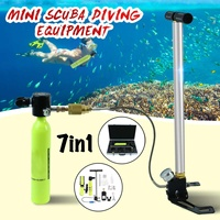 Mini Scuba Oxygen Air Tanks Diving Equipment for Snorkeling Underwater Breathing Regulator Cylinder Gear Accessories