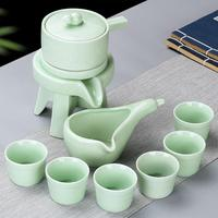 White Ceramic Chinese Kung Fu Tea Set China Teaware Sets Ceramic Teapot Teaset Gaiwan Set Tea Cups Of Tea Ceremony Tea Pot Sets