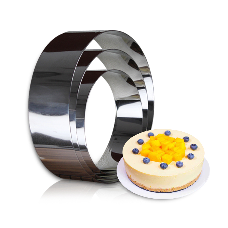 Stainless Steel Round Mousse Rings Mold circular Bread Ring baking Wedding Molds Ustensiles Patisserie