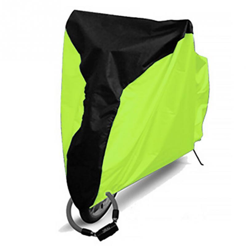 Extérieur étanche à la poussière couverture de vélo UV protection vélo couverture cyclisme vélo poussière pluie couverture protecteur cyclisme accessoire ~