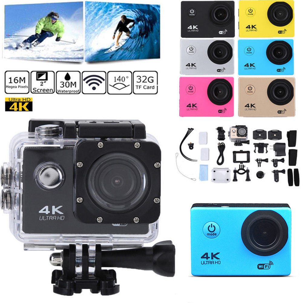 64G 4K Action Camera Sj9000 Underwater Waterproof Ultra HD DV Remote Controller Camcorder DVR Sport WIFI Recording 1080p Camera64G 4K Action Camera Sj9000 Underwater Waterproof Ultra HD DV Remote Controller Camcorder DVR Sport WIFI Recording 1080p Camera