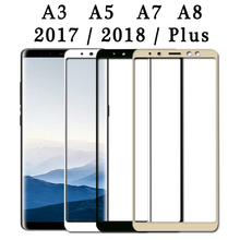 protective glass for samsung a5 2017 screen protector a3 a7 a8 plus 2018 galaxy 9 H a530f a730f a 3 5 7 8 tempered glas case