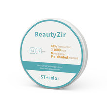 Roland dwx zirconia block preshade A1-D4 for Roland dental milling cad cam machine