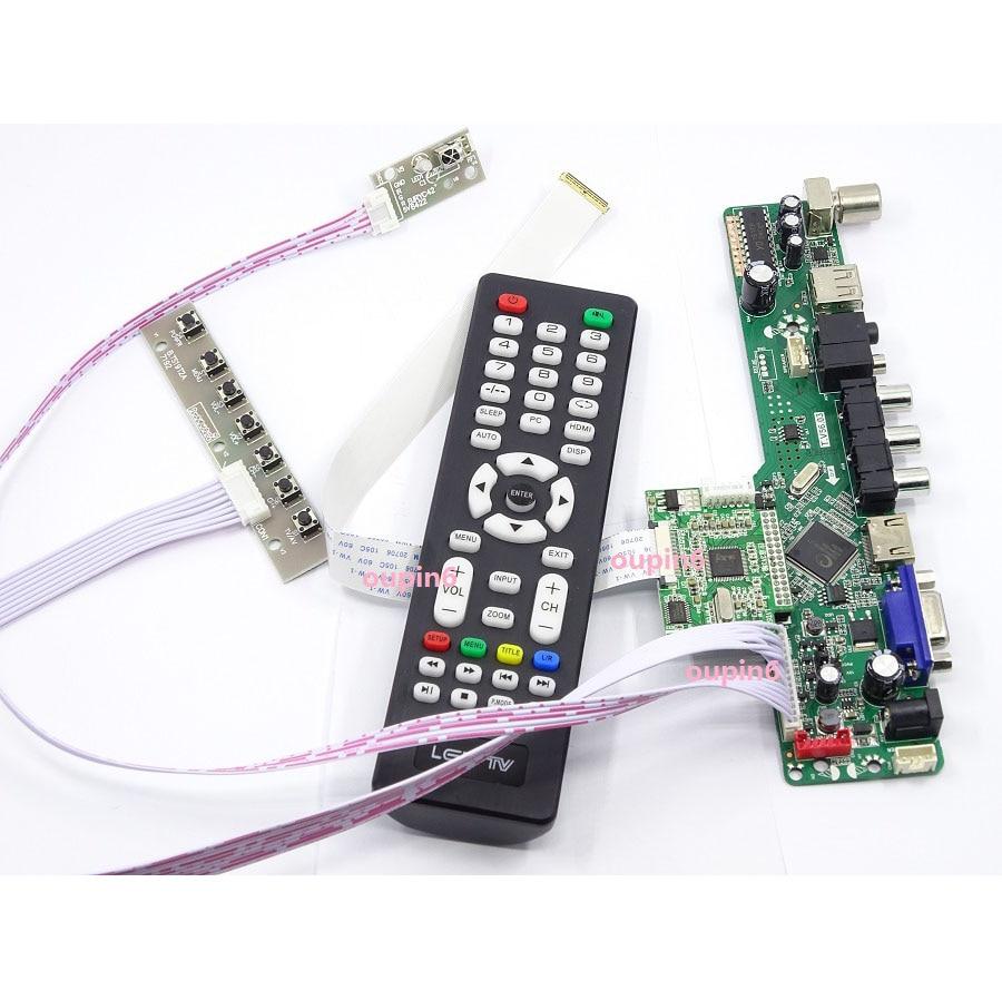 For N156BGE-EB1/N156BGE-E41 1366*768 Monitor TV HDMI VGA LCD LED EDP DIY Controller Driver Board