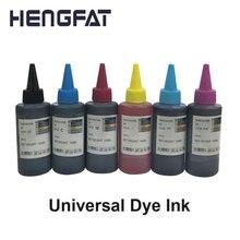 2 шт универсальные чернила Dyel, совместимые с hp, Epson, Canon, Dell, чернила для принтера и СНПЧ
