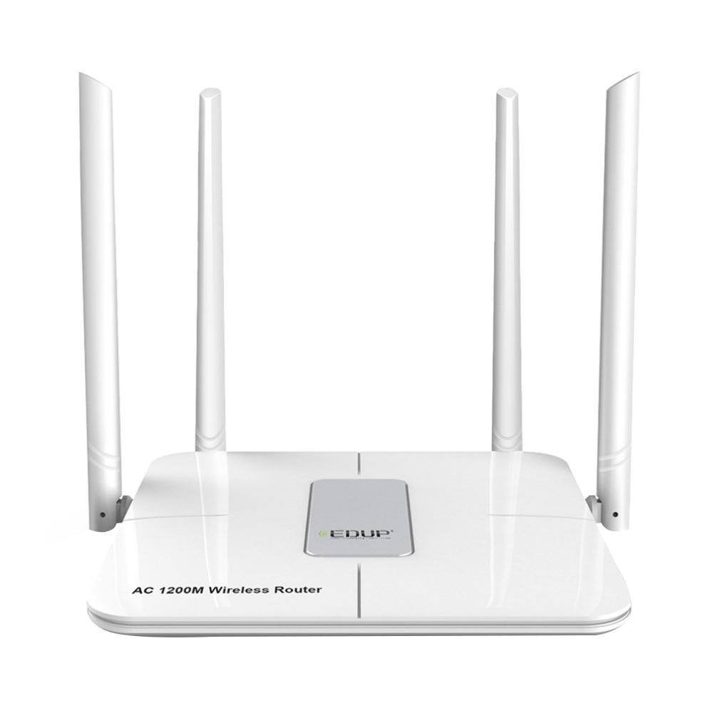 EDUP 5Ghz Wifi Router 1200Mbps Wireless Wlan Wifi Repeater 802.11Ac Wifi Range Extender 4 X 5Dbi Antenna Wifi Amplifier Eu Plu