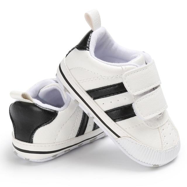 2019 Trẻ Sơ Sinh Bé Trai Cô Gái Mềm Duy Nhất Prewalker Giày Dép Trẻ Sơ Sinh Toddler Giày Sneaker cho 0-18 M Đầu Tiên Tập Đi