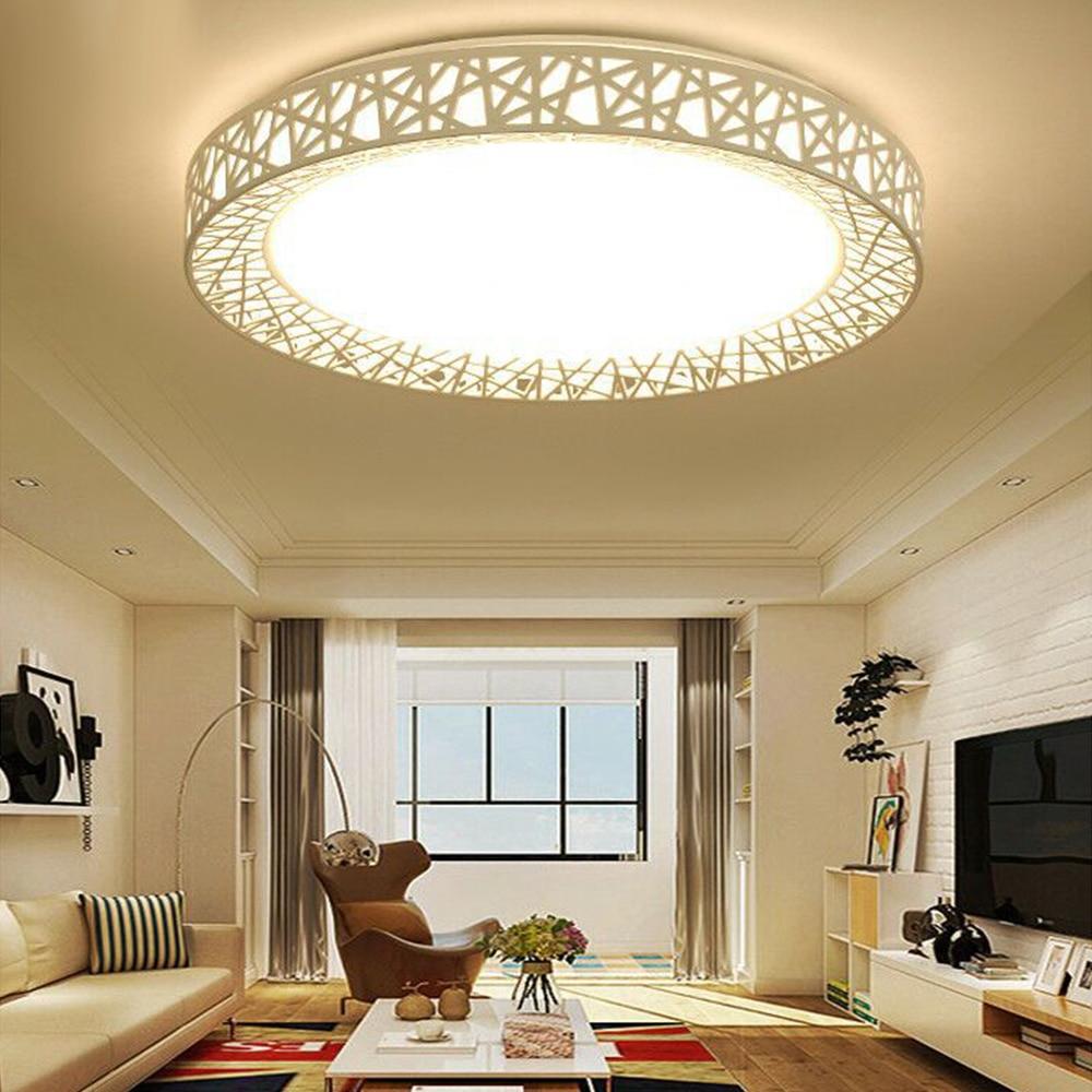 12W 24W 17CM 27cm LED Ceiling Light AC220V Bird'S Nest Shape Led Ceiling Lamp Flush Mount Bedroom Fixture Lamp For Living Room #