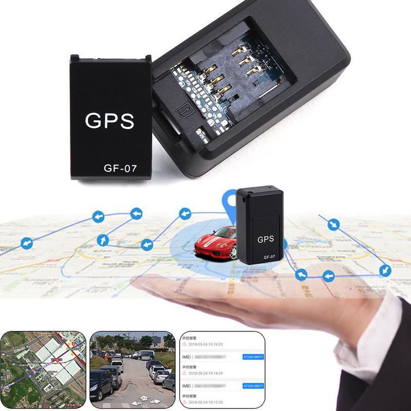 Mini Gravação GF07 GPRS Perseguidor Do GPS Do Carro Localizador Anti-Lost Dispositivo de Rastreamento de Controle de Voz Pode Gravar