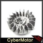 Pocket Bike Recoil Pull Starter Flywheel For 2 Stroke 47cc 49cc CAG CAGLLARI MTA1 MTA2 X1 X2