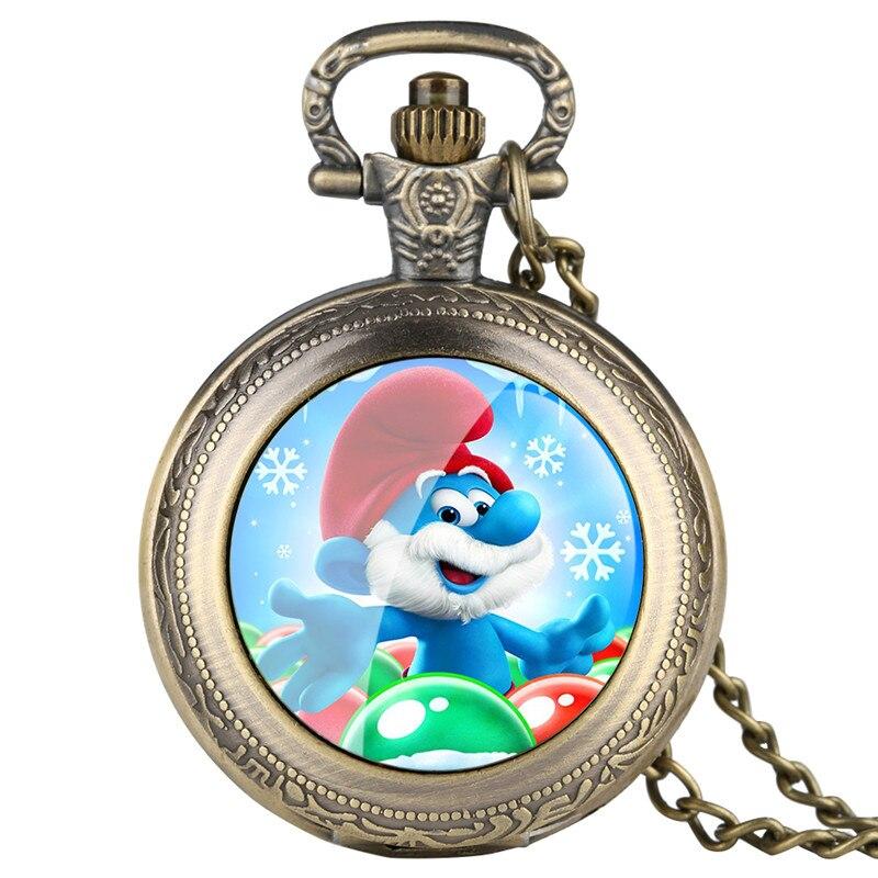 Pokemon Fine Chain Pocket Watch for Kids Cartoon Character Pattern Quartz Pocket Watch for Students Quartz Pocket Watch Retro