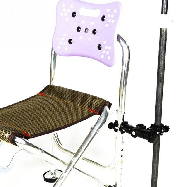 fishing chair brackets fabric desk chairs without wheels universal beach mount umbrella stand clip support holder