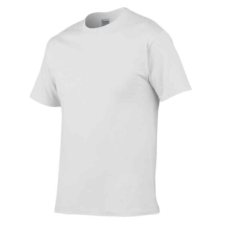 ヨーロッパサイズ無地綿 100% Tシャツメンズ黒、白 Tシャツ 2019 夏のスケートボード Tシャツヒップホップスケート tシャツトップス