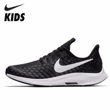 84679a232dc2 Nike AIR ZOOM PEGASUS 35 GS Shock-absorption Motion Leisure Time Running  Shoes Kids Sneakers