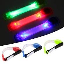 Светодиодный ночной браслет для бега, легкий портативный светящийся нарукавный фонарь для безопасности, ночной бег, повязка на ногу, безопасная для детей и женщин