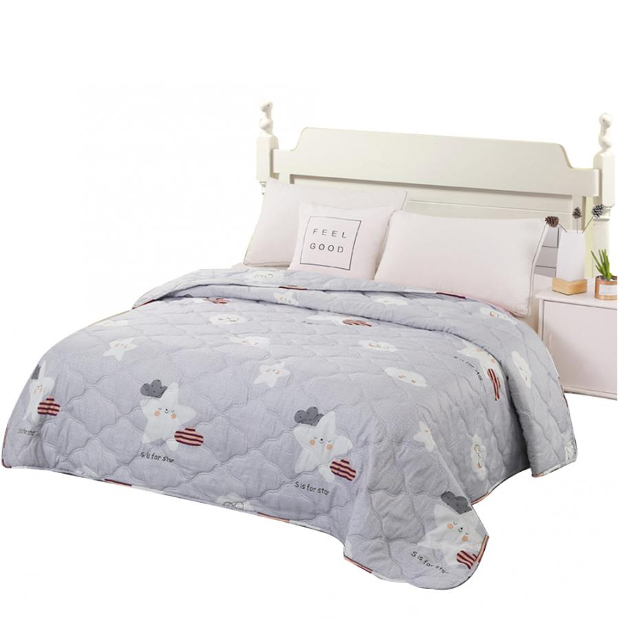 New Modern Polyester Bedspread Summer Quilt Blanket Comforter Bed Cover Quilting Home Textiles Suitable for Children Adult quilt