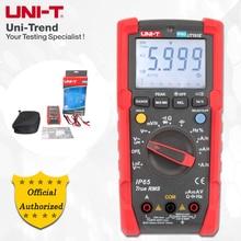 UNI T UT191E/UT191T профессиональный мультиметр; true RMS IP65 Водонепроницаемый/пыленепроницаемый цифровой мультиметр, температура/напряжение LoZ