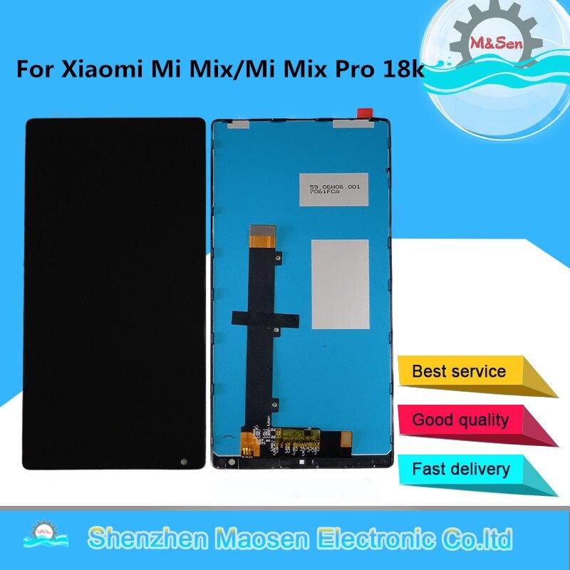 "Original 6.4"" M&Sen For Xiaomi Mi Mix /Mi Mix Pro 18k Version LCD Screen Display+Touch Panel Digitizer Frame For Xiaomi MI Mix|lcd screen display|lcd screen|display lcd touch screen - title="