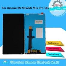 """Oryginalny 6.4 """"M & Sen dla Xiaomi Mi Mix /Mi Mix Pro 18k wersja ekran wyświetlacz LCD + Digitizer Panel dotykowy rama dla Xiaomi MI Mix"""