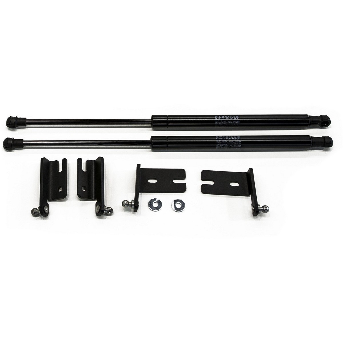 Hood shock absorber Rival A.ST.4703.1 rfy motorcycle air suspension rear shock absorber black 2 pcs