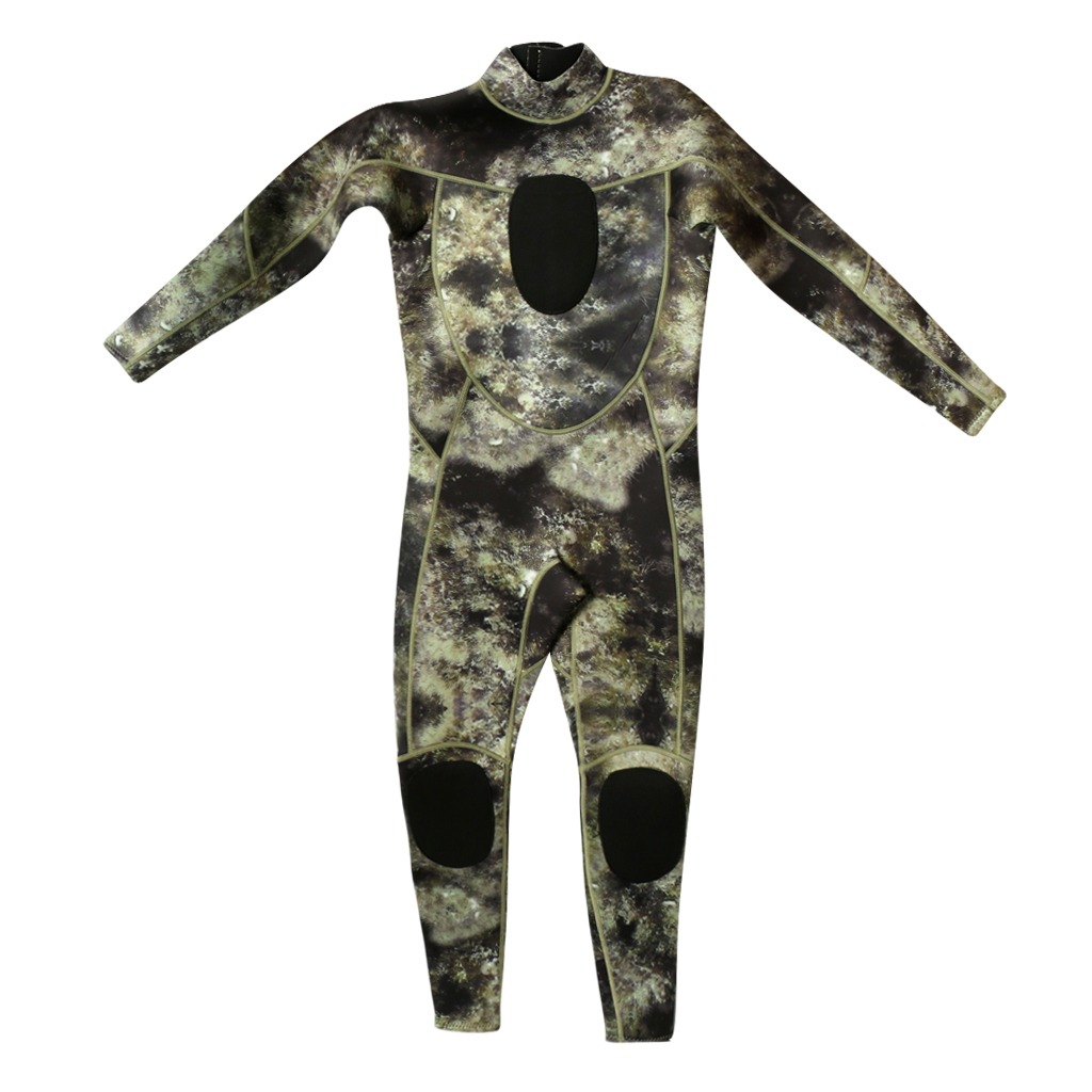 Image 5 - 3mm Neoprene Camo Men Full Wetsuits Warm Winter Swimming Scuba Diving Surfing Spearfishing S/M/L/XL/XXL/XXXL-in Wetsuit from Sports & Entertainment
