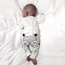 Для новорожденных от 0 до 24 месяцев детские брюки для маленьких мальчиков и девочек с героями мультфильмов, милые длинные штаны-шаровары брюки из хлопка, леггинсы штаны
