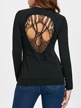 Long Sleeve Skull Cutout T-Shirt ladder cutout sleeve jumper