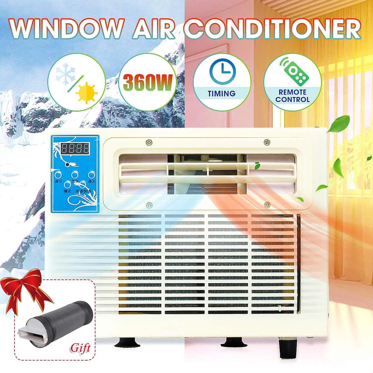 Neueste 900 W Ipx4 Desktops Klimaanlage Fenster Klimaanlage Mini Haushalt Luftkühler Klimaanlage Mit Fernbedienung Haushaltsgeräte