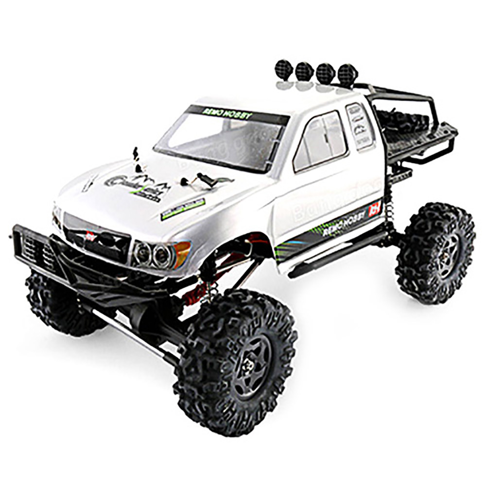 Remo Hobby 1093-ST 1:10 RC Car 2.4G 4WD Brushed Off-Road Rock Crawler Trail Rigs Car RTR Remote Control Cars Toys Kid GiftRemo Hobby 1093-ST 1:10 RC Car 2.4G 4WD Brushed Off-Road Rock Crawler Trail Rigs Car RTR Remote Control Cars Toys Kid Gift