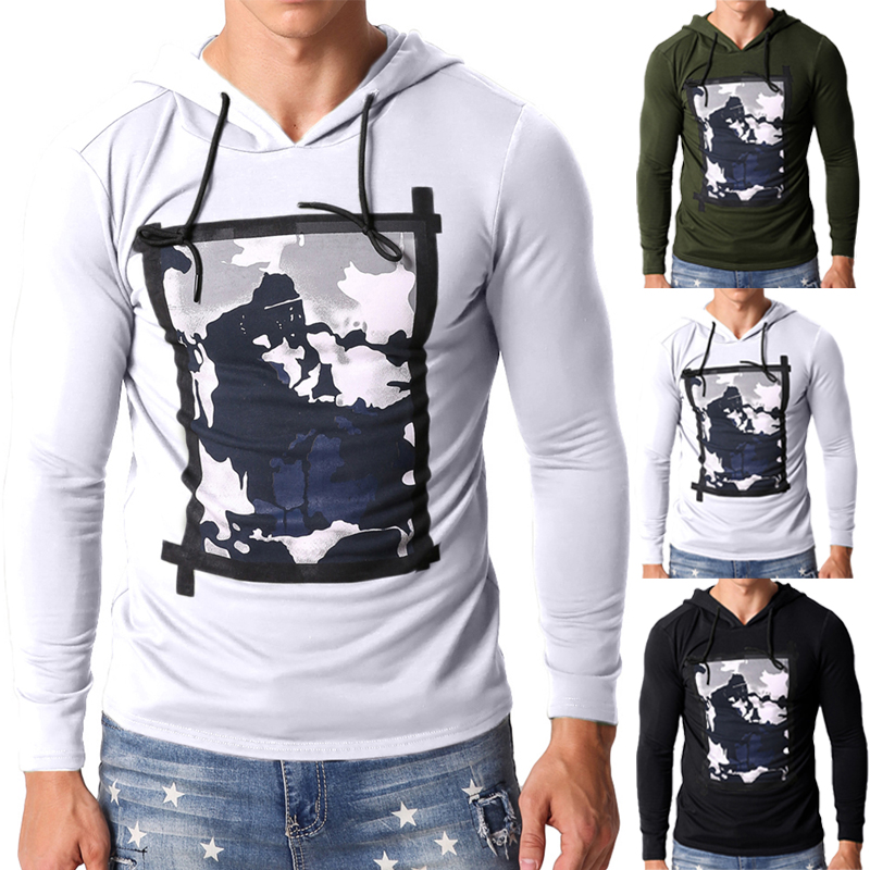 Fashion Mens Sweatshirts Pullovers Hoodies Long Sleeve Plain Tracksuits Joggers Bodybuilding Hoody Hombre Mens Jumpers Clothing
