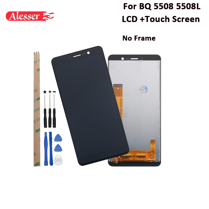 Alesser For BQ 5508 5508L LCD Display And Touch Screen Tested Assembly For BQ 5508 5508L Phone +Tools And Adhesive 5.45Alesser For BQ 5508 5508L LCD Display And Touch Screen Tested Assembly For BQ 5508 5508L Phone +Tools And Adhesive 5.45